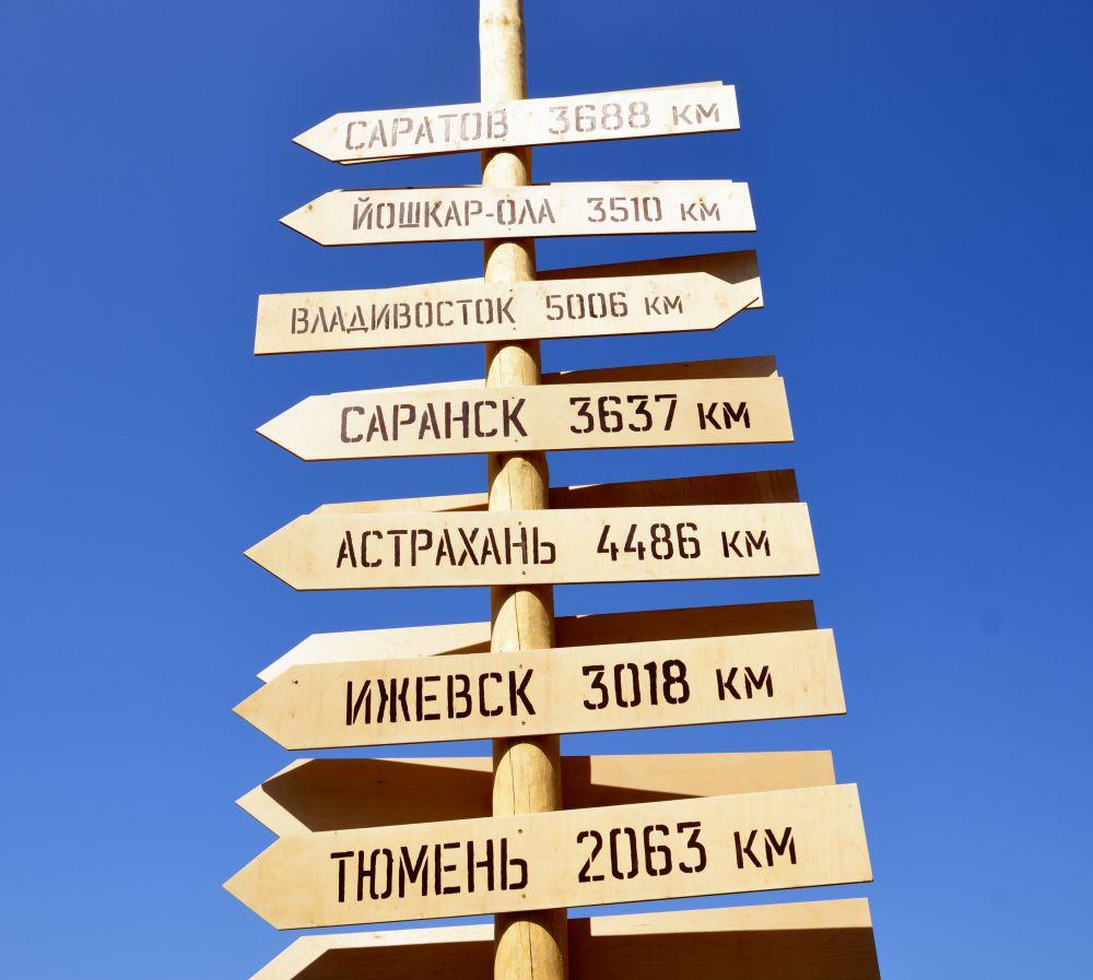Города, из которых приехали гости Сабантуя