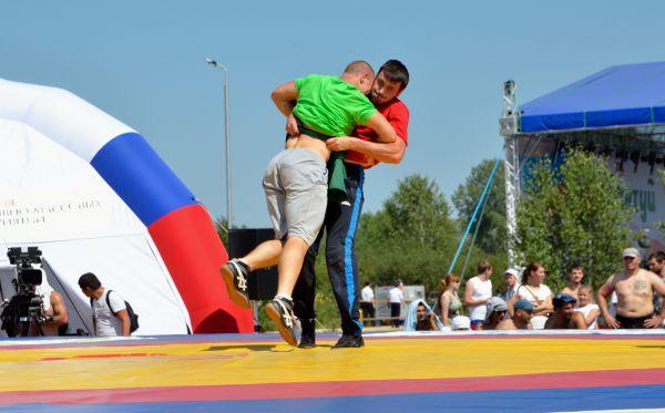 Организованы соревнования на вполне олимпийском уровне