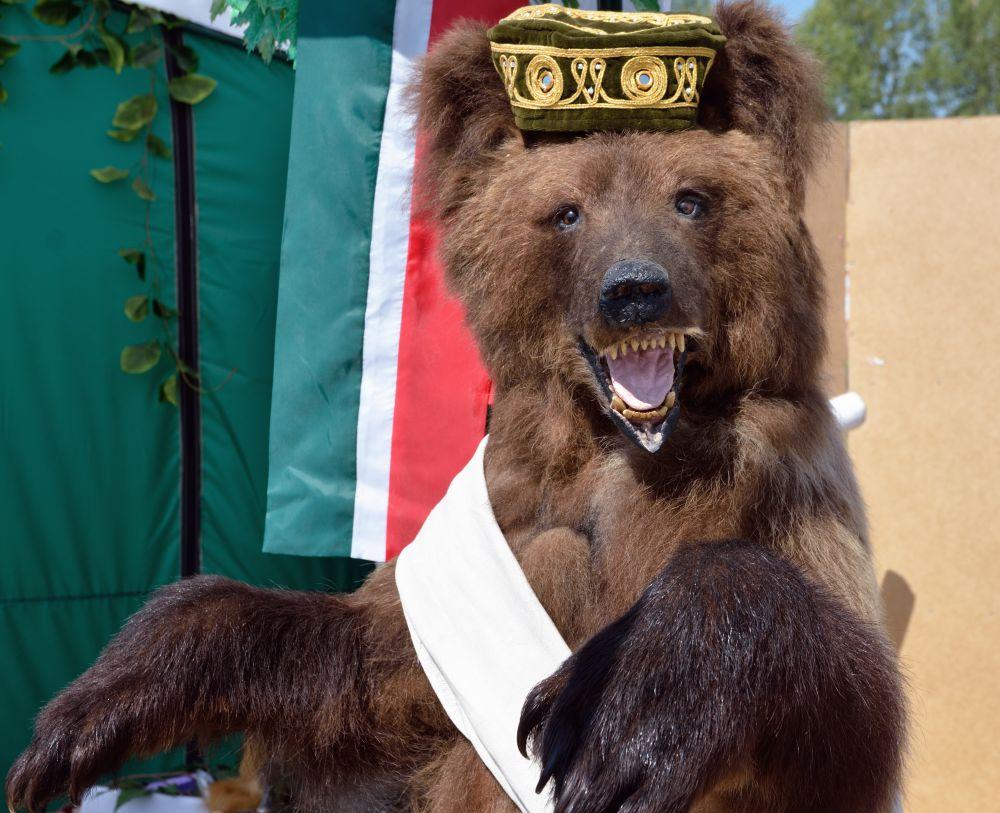 Чучело медвежонка