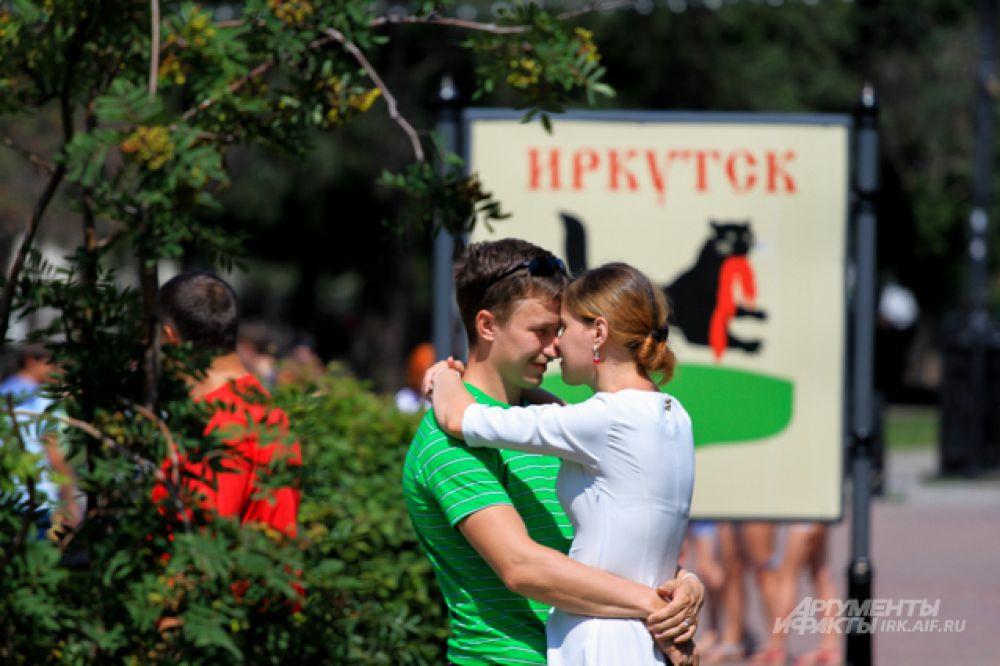 День поцелуев - это рекламная акция Любви.