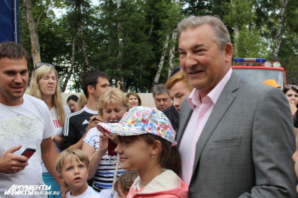 Владислав Третьяк после Светлогорска отправился на отдых в Ригу.