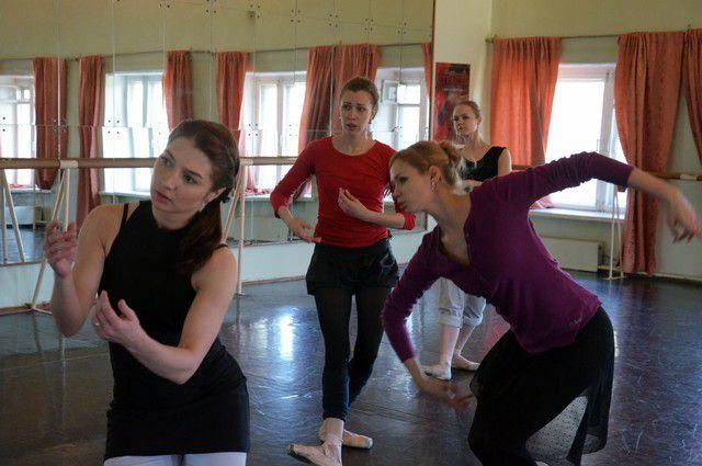 Репетиция балета «Идиот».