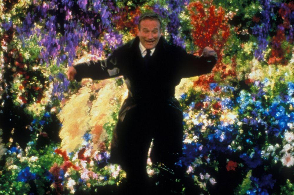 Годом позже Робин Уильямс блеснул в зрелищной экранизации книги «Куда приводят мечты» Ричарда Мэтисона. Эта лента получила «Оскар» за лучшие визуальные эффекты.