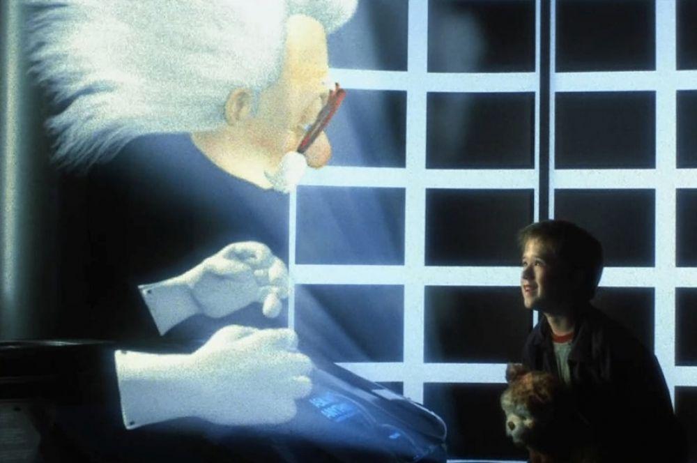 В продолжение темы научной фантастики Робин Уильямс озвучил голограмму доктора Ноу в драме Стивена Спилберга «Искусственный разум».