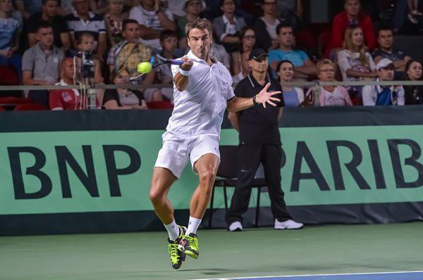 Испанский теннисист Томми Робредо.