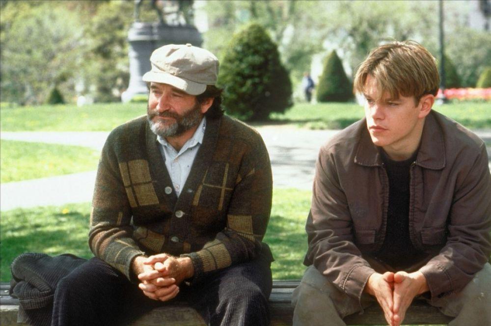 Единственный «Оскар» Робину Уильямсу принёс фильм Гаса ван Сента «Умница Уилл Хантинг». Уильямс сыграл мудрого профессора, помогающему другим обрести свой путь в жизни.