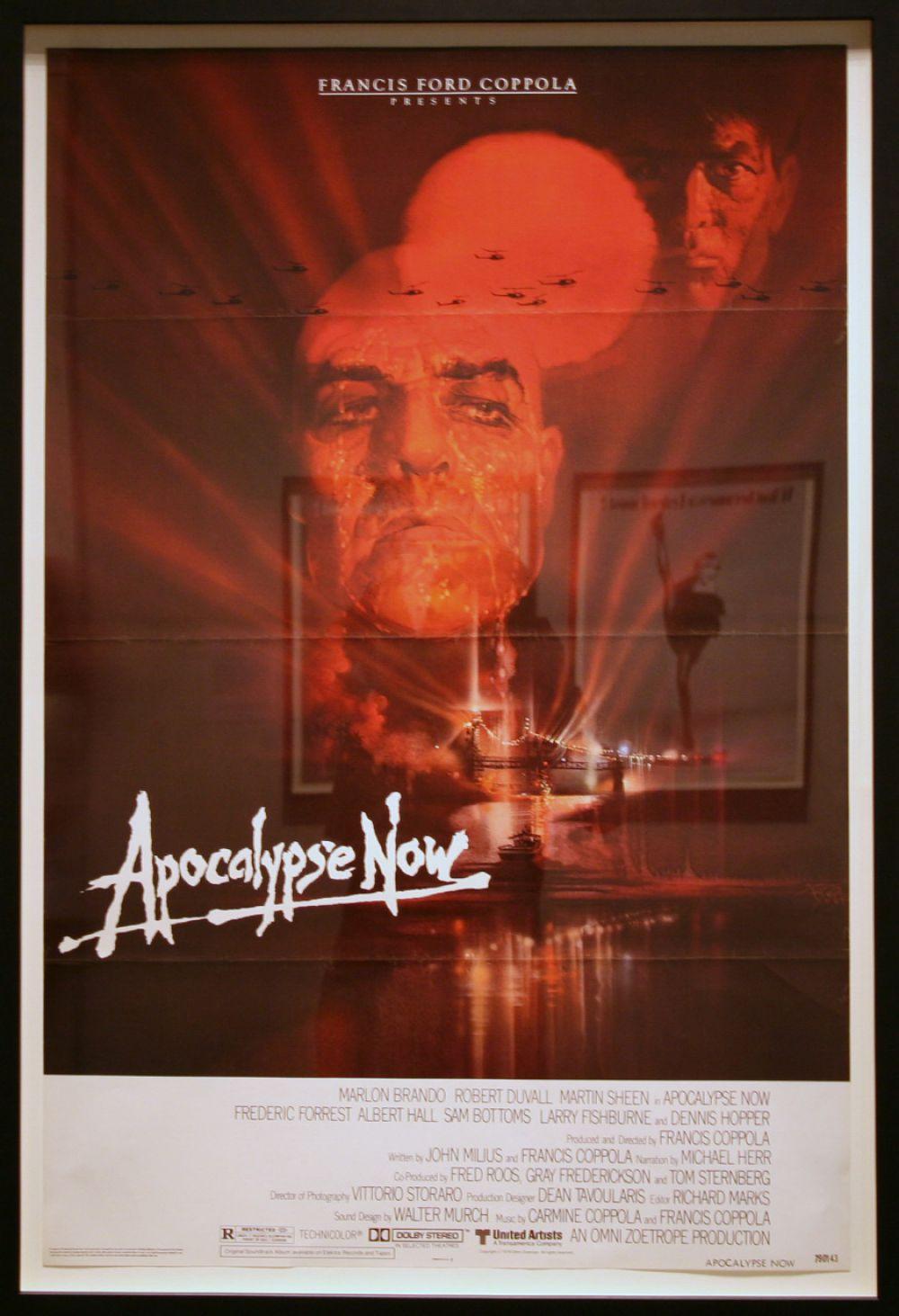 Значительный интерес вызвали и эскизы к постерам. Созданный Бобом Пиком для фильма Фрэнсиса Форда Копполы «Апокалипсис сегодня» (Apocalypse Now, 1979) продан за $11,3 тысячи.