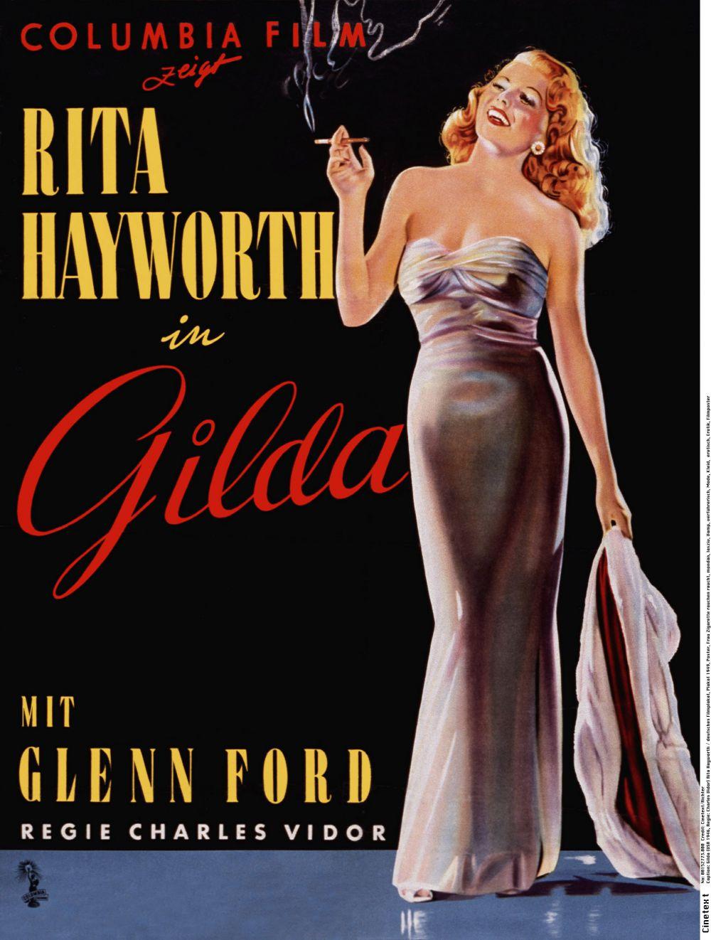 Постер фильма «Гильда» (Gilda, 1946) ушел почти за $22 тысячи.