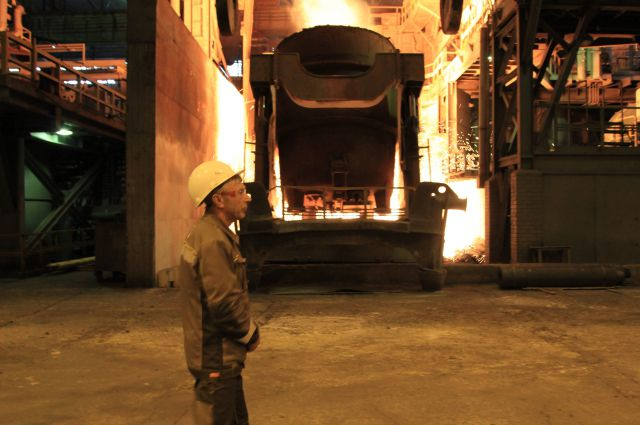 На «Тагмете» мартены заменила современная электродуговая печь.