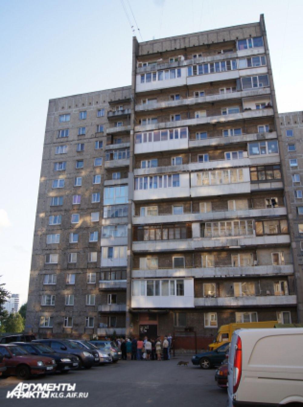 Межведомственная комиссия зафиксировала значительный крен здания – около 40 сантиметров.