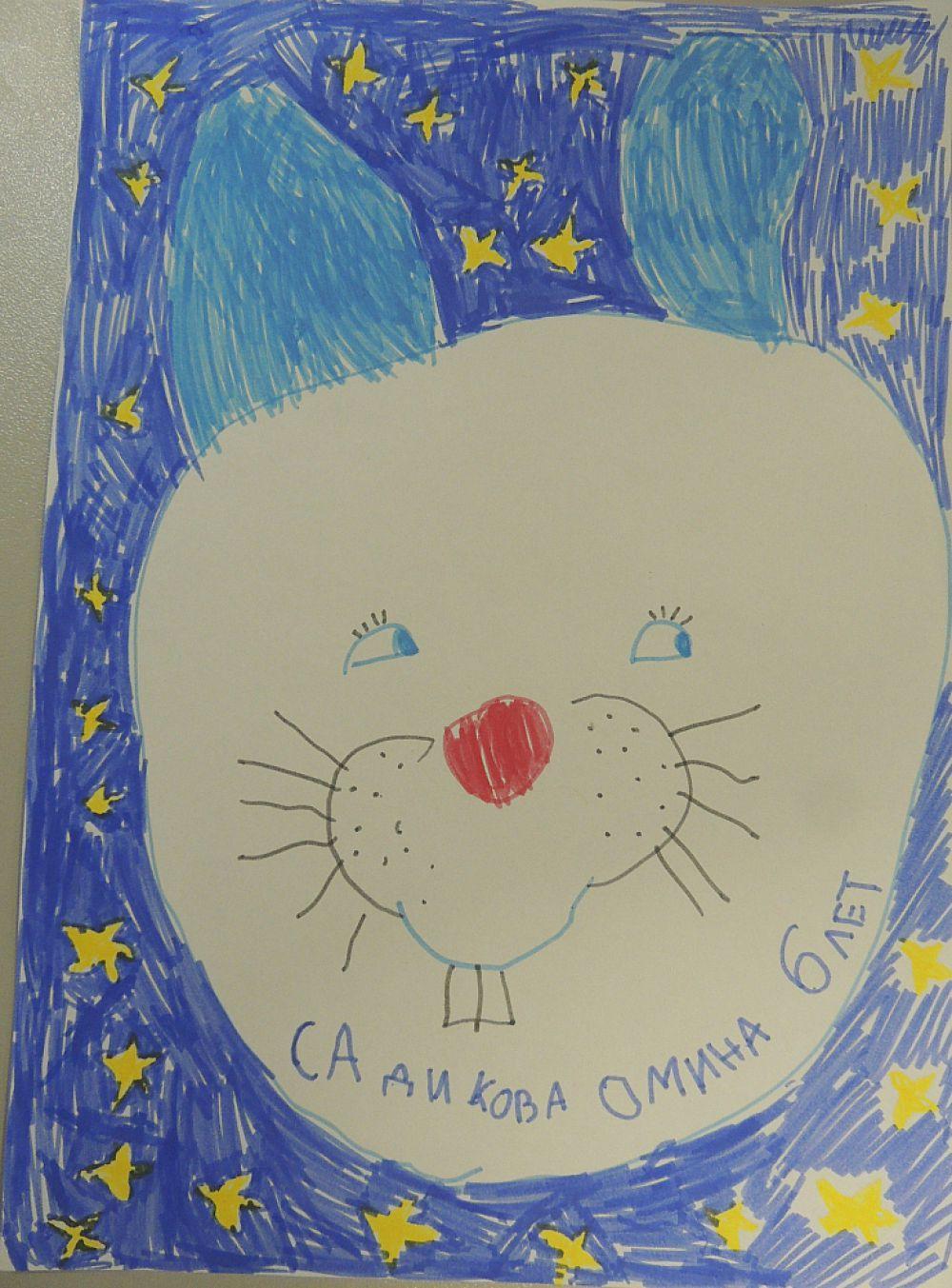 Рисунок Омины Садиковой