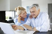 Оформить пенсию теперь можно через интернет.