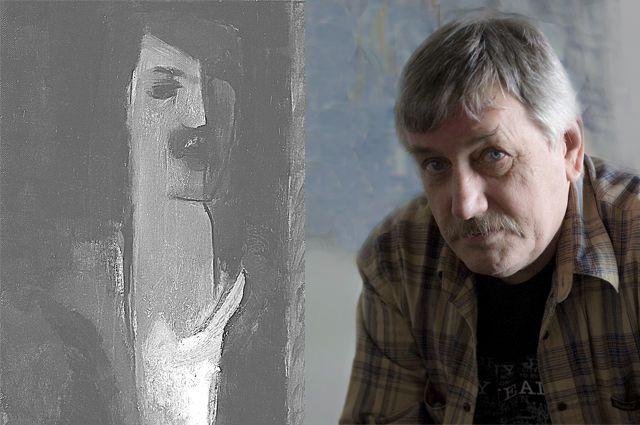 Автор и его автопортрет.