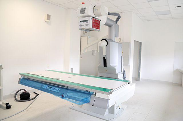 В новой поликлинике Уралвагонзавода начался монтаж оборудования