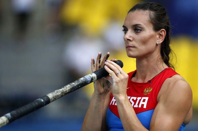 Двукратная олимпийская чемпионка Елена Исинбаева стала послом Волгограда наЧМ