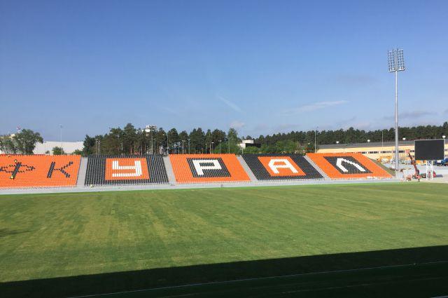 Футбольный матч между «Уралом» и «Зенитом» будет охранять «Око»