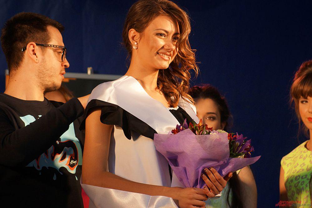 Как призналась победительница, она совсем не ожидала, что выиграет конкурс красоты.