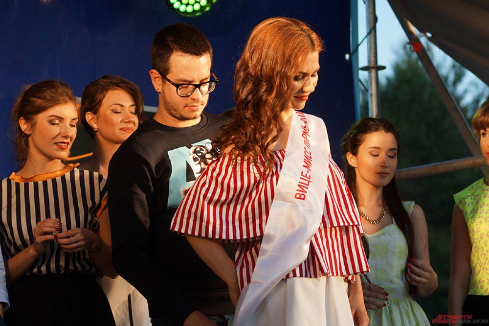Вице-мисс стала Ксения Можарова.