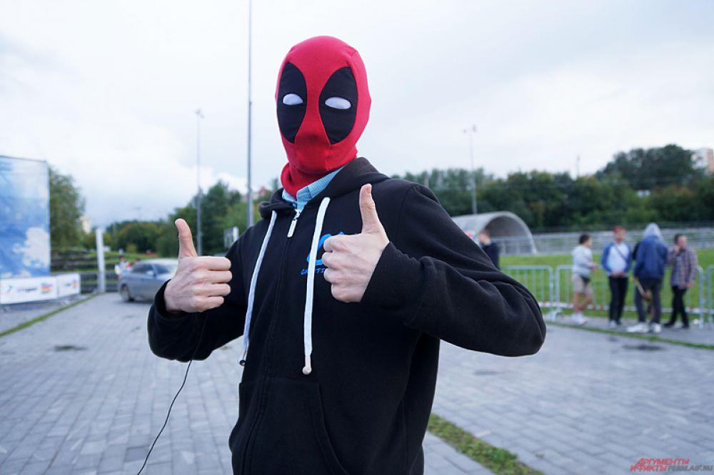 Пермяк надел маску супергероя.