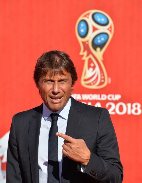 Главный тренер национальной сборной Италии Антонио Конте.