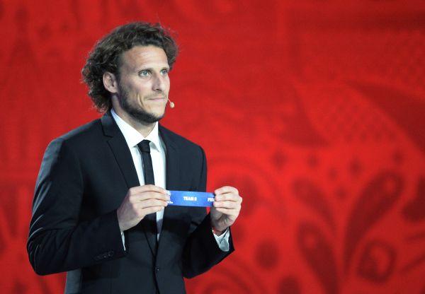 Лучший игрок мирового первенства 2010 года, игрок национальной сборной Уругвая Диего Мартин Форлан.