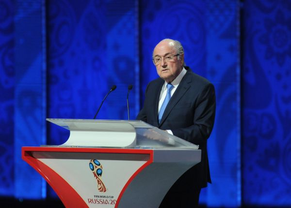 Глава Международной федерации футбола (ФИФА) Йозеф Блаттер.