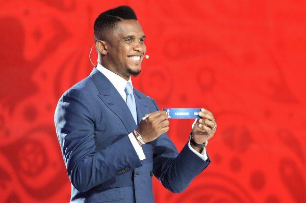 Трехкратный победитель Лиги чемпионов, камерунский футболист Самюэль Это'О.