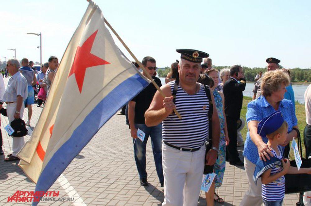 День Военно-морского флота в Омске.