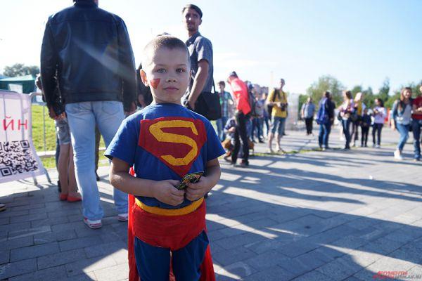 Маленький Супермен.