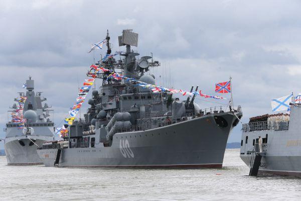 Эсминец Балтфлота «Настойчивый».
