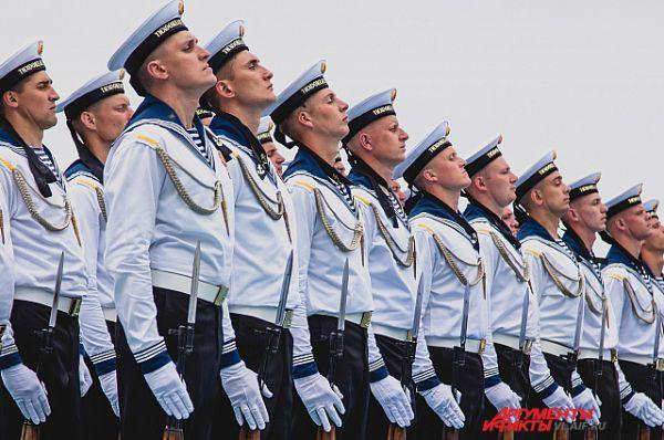 Моряки-тихоокеанцы - гордость России.