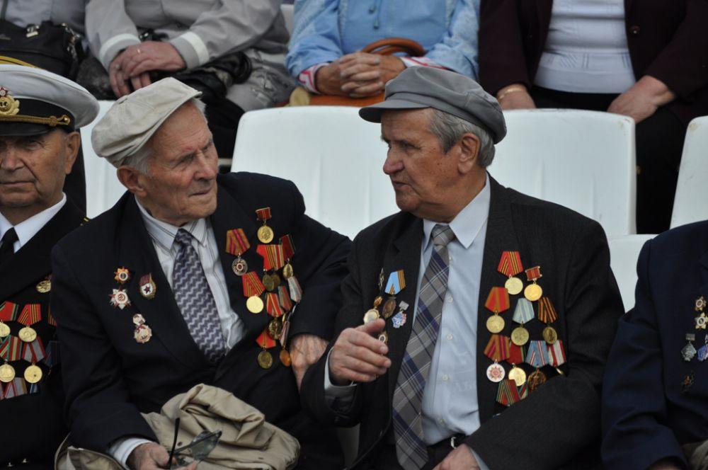 Почётными гостями торжеств стали ветераны-североморцы, участники Северных конвоев и ветераны Великой Отечественной войны.