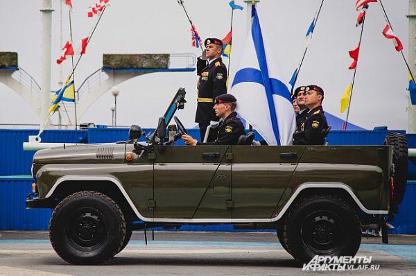 Парад боевой техники.