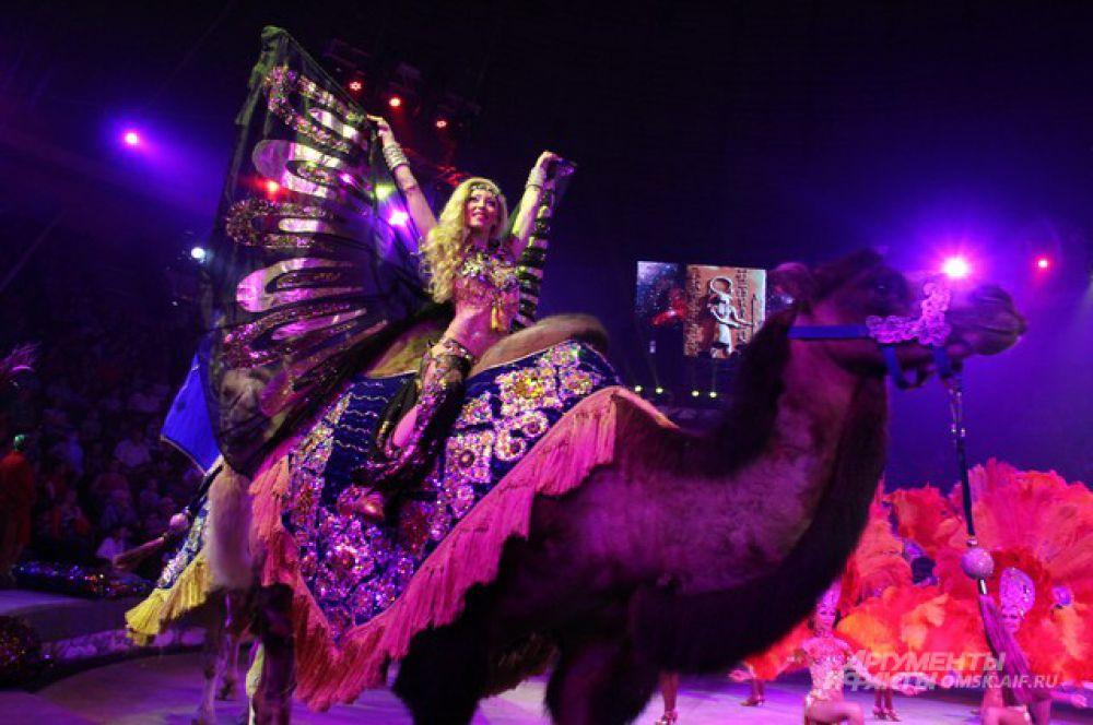 Шоу «Баронеты» Королевского цирка Гии Эрадзе в омском цирке.