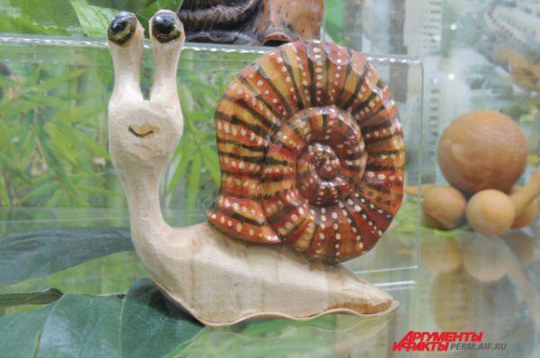 В мире известно сто тысяч видов улиток.