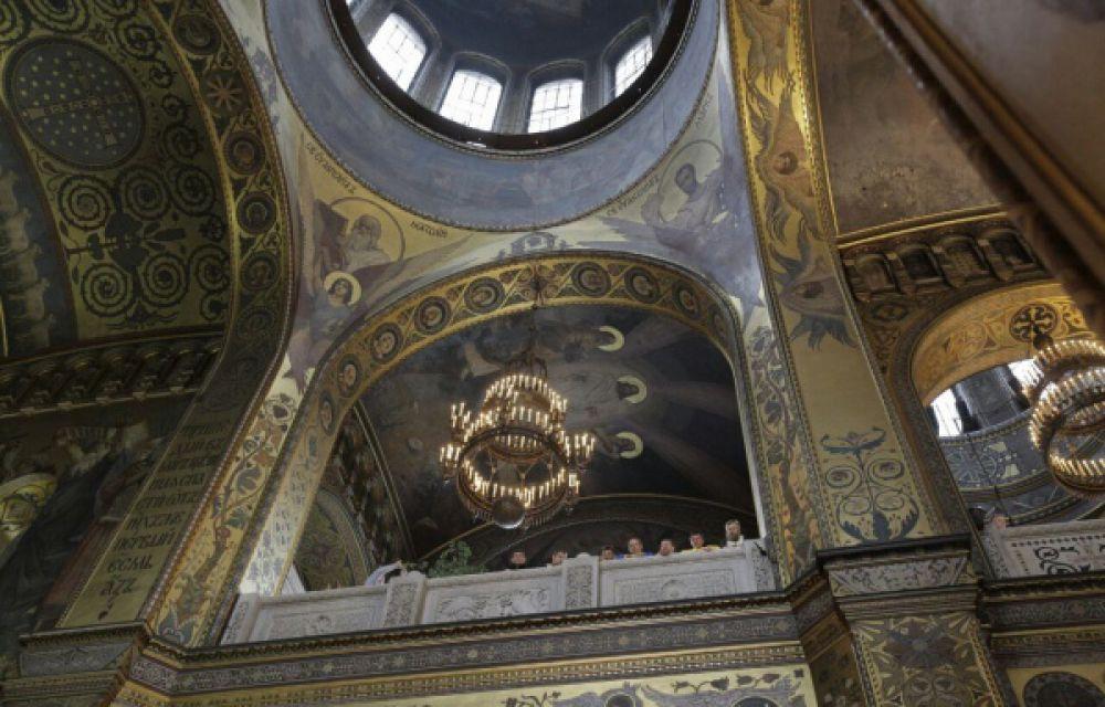 Как в Киеве отмечали день Крещения Руси