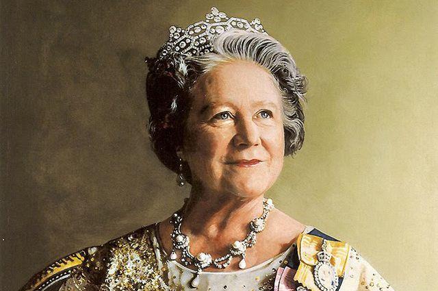Портрет Ее Величества Королевы Елизаветы. Ричард Стоун. 1986 год.