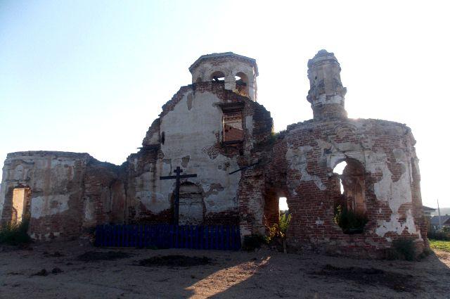 Храм Нерукотворного образа Иисуса Христа в селе Ишим.