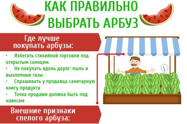 Как выбрать арбуз?