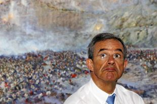 Член французского парламента Тьери Мариани в Крыму.