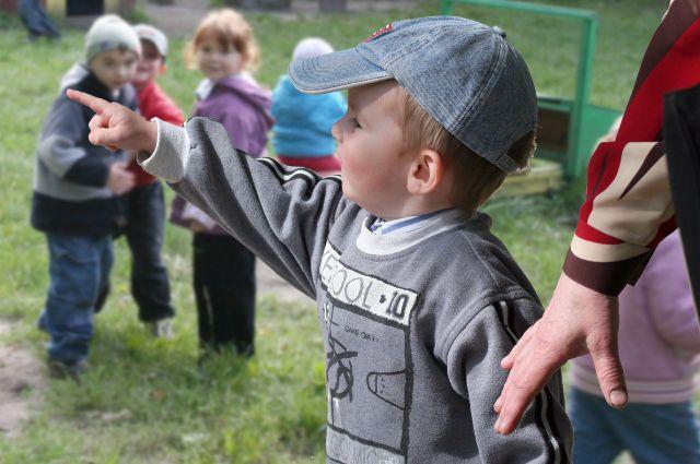Пять тысяч детей собираются в детские сады.