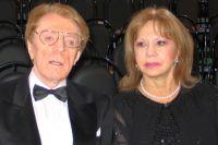 Народный артист СССР Олег Стриженов и актриса Лионелла Стриженова.