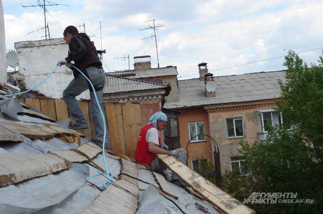 Капитальный ремонт домов в Омской области.
