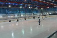 Ледовая арена в Артёме.