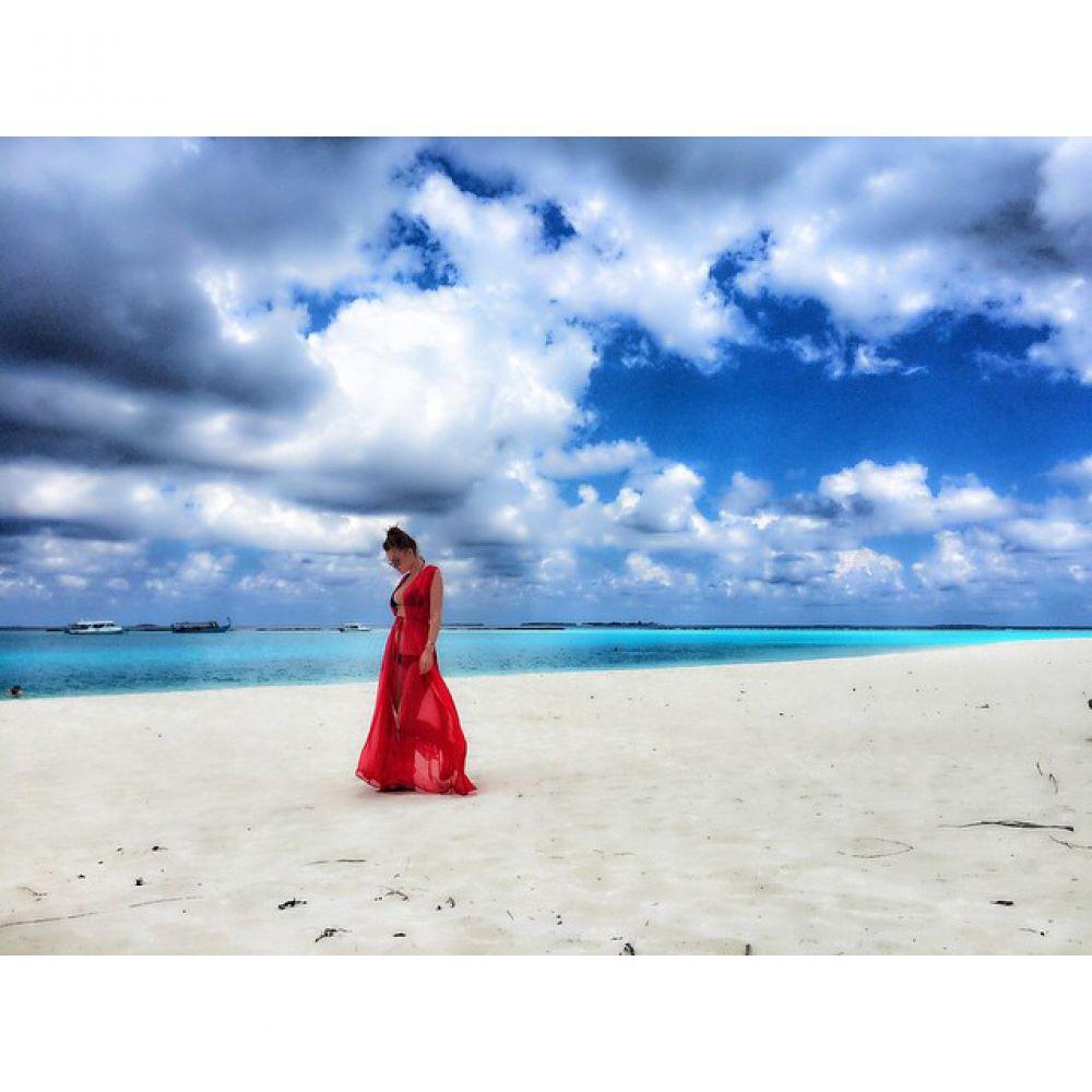 Слава из «НеАнгелов», Мальдивы