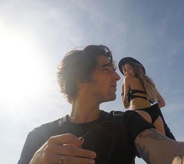 Надя Дорофеева и Владимир Дантес, Испания
