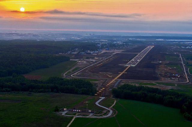Международный аэропорт в Калуге.