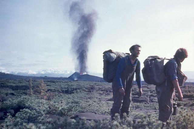 Лавовый поток Южного прорыва, сентябрь 1975 г.