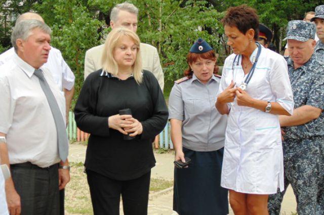 Элла Памфилова осмотрела женскую колонию №12 и дом ребёнка при ней