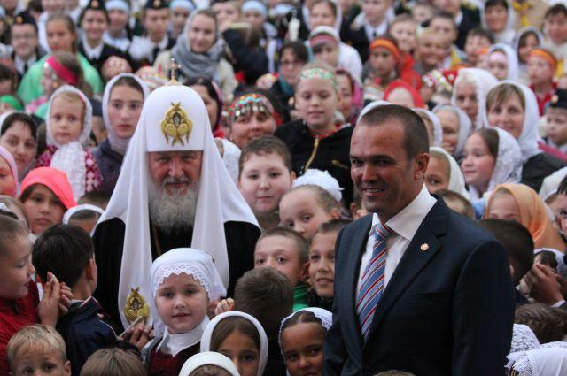 Святейший Патриарх Кирилл прибыл в Чебоксары   КУЛЬТУРА ...